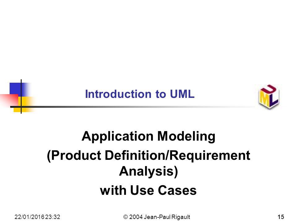 introduction to uml  the unified modeling language