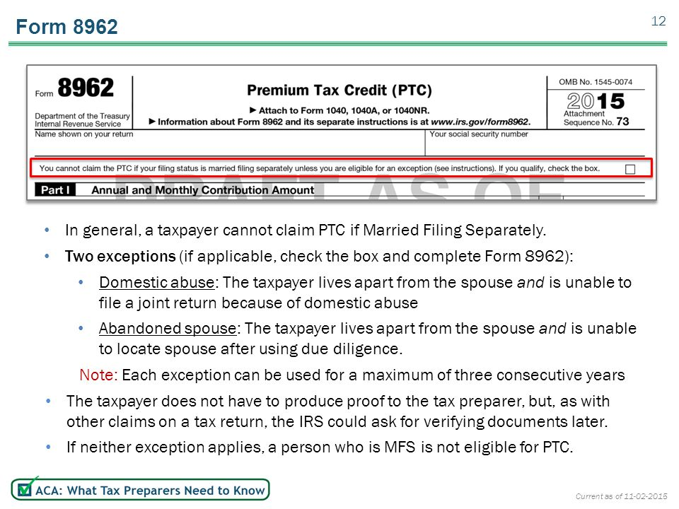 Form 8962 Instructions Pinephandshakeapp