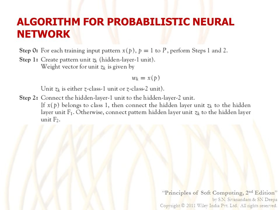 probabilistic neural network thesis A probabilistic treatment of our a priori knowledge, domain specic knowledge, model  estimation techniques many researchers have contributed towards the development of the bayesian.
