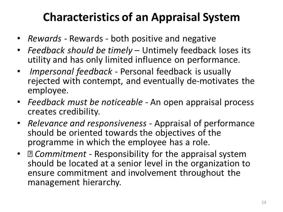 performance appraisal and its negative feedback Performance appraisal and its negative feedback a performance appraisal system had been established in that firm several years ago the management with the help of consultants, conducted several innovative experiments and introduced many improvements in their existing system the company believes that the system of performance appraisal is a.