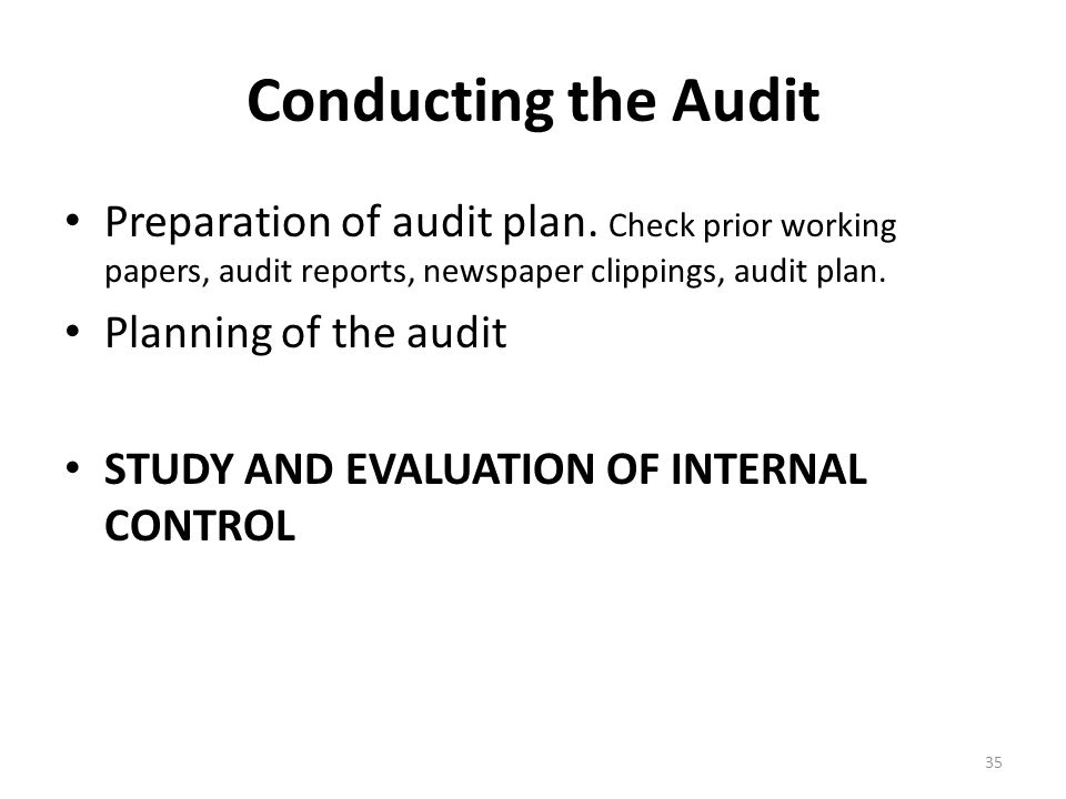 the audit report and internal control evaluation Decidehow to structure the audit report for the provided evidence composean audit report reflecting the audit report and internal control evaluation the final stage of an audit process involves the audit report.