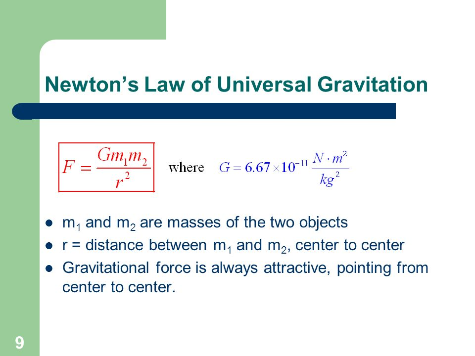 Honors Physics Chapter 7 ppt download – Law of Universal Gravitation Worksheet