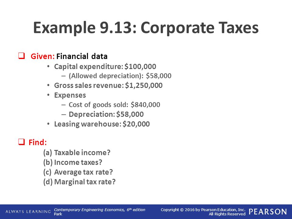 how to find taxable income given income tax