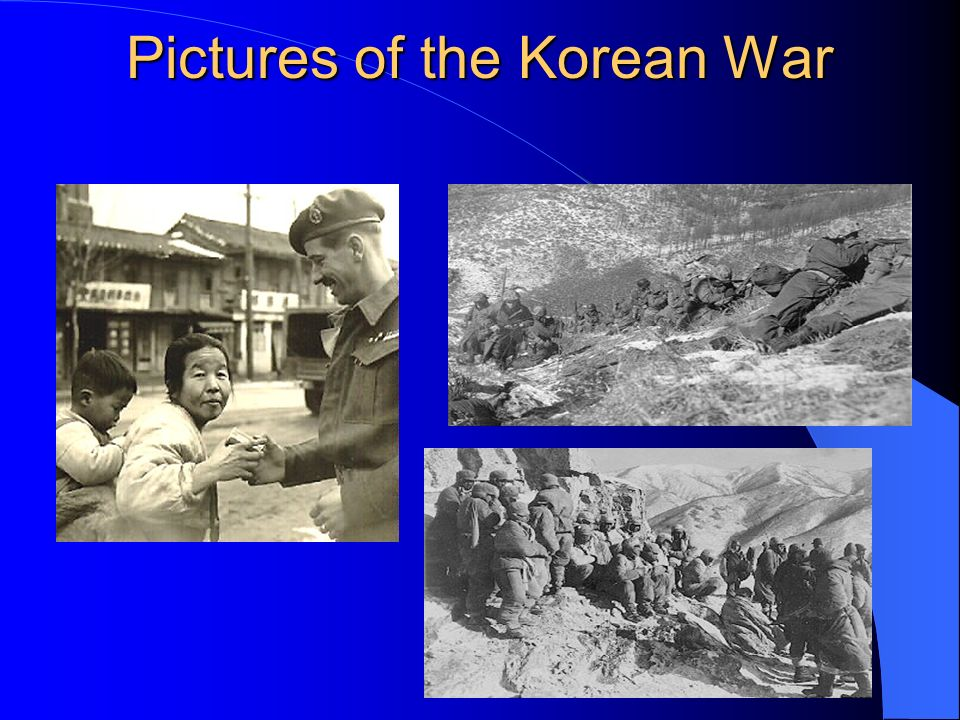 Pictures of the Korean War