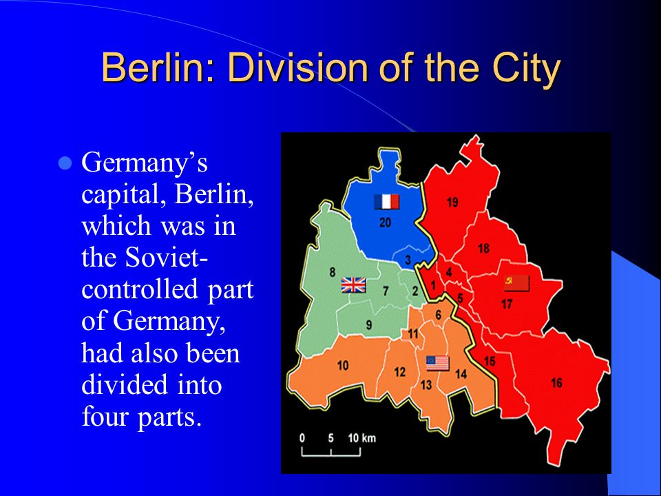 Berlin: Division of the City