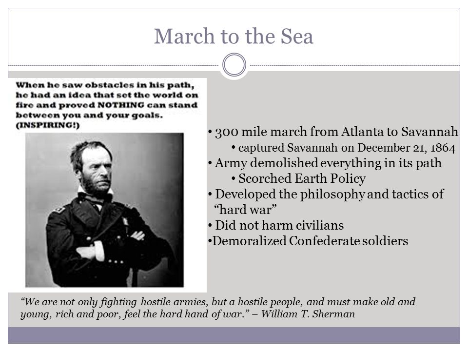 146 Special Field Order No15 William T Sherman Ppt Download