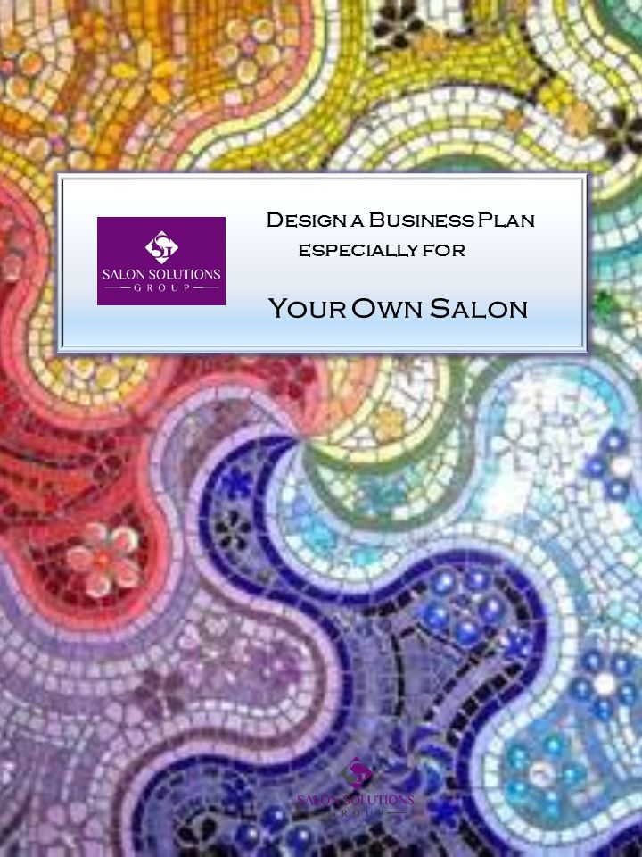 Design a business plan especially for your own salon ppt for Design your own salon