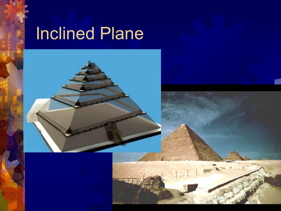 incline plane simple machine