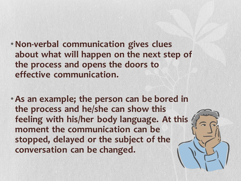 An Introduction to Non Verbal Communication