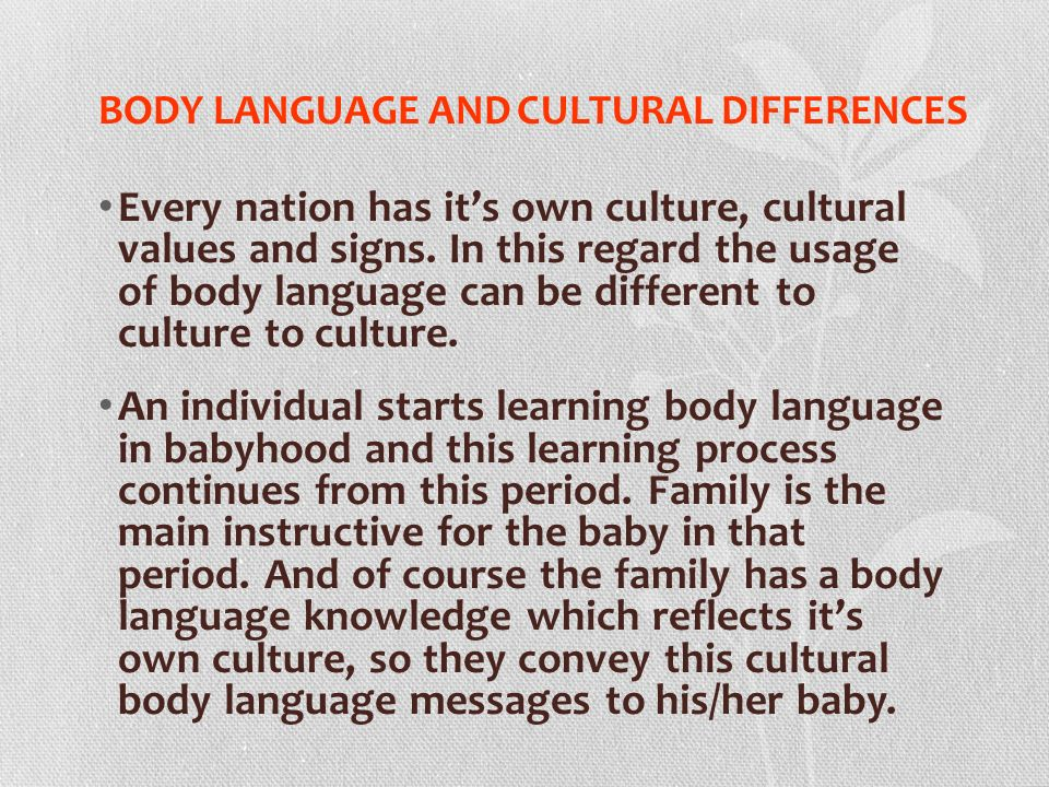 family cultural differences Awareness and acceptance of cultural differences  • nuclear family,  cultural and diversity considerations 4.
