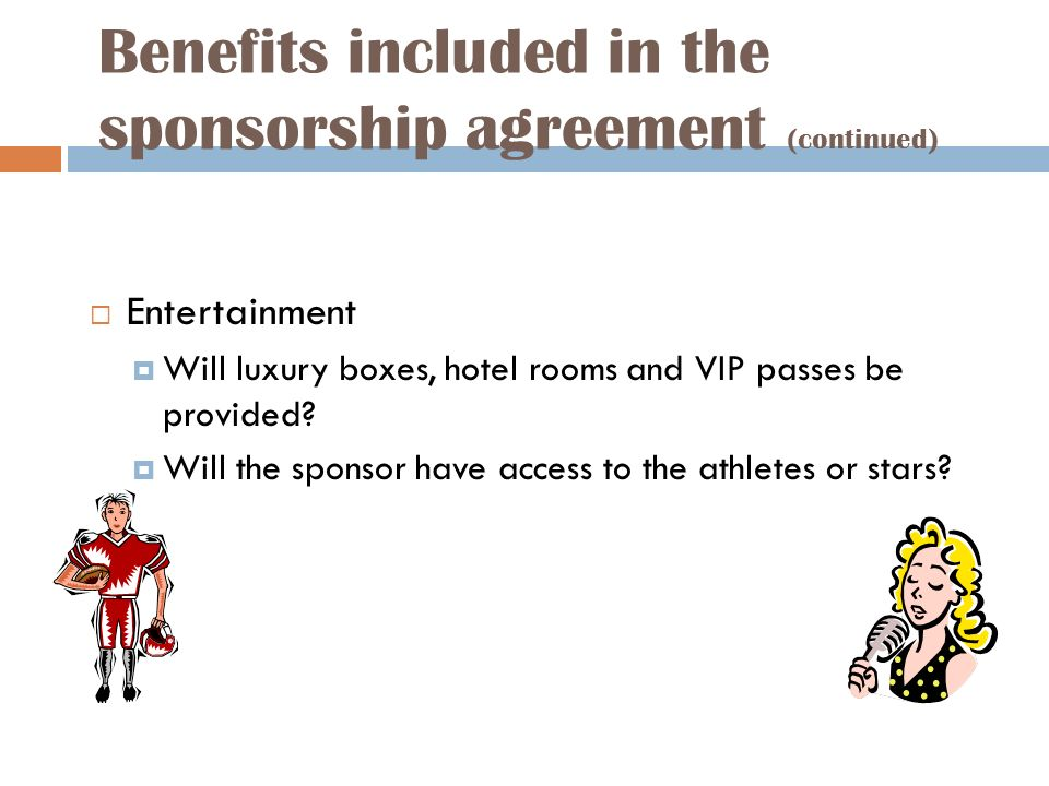 Explain the concept of sponsorship ppt download – Athlete Sponsorship Contract