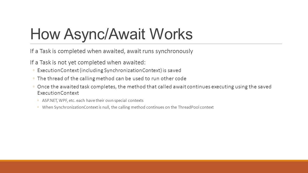 c how to create async method