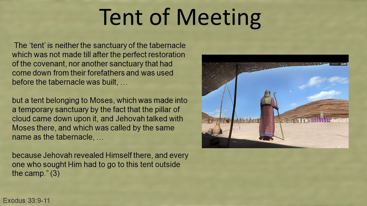 Tent of Meeting  sc 1 st  SlidePlayer & Two New Tablets Exodus Lesson ppt video online download