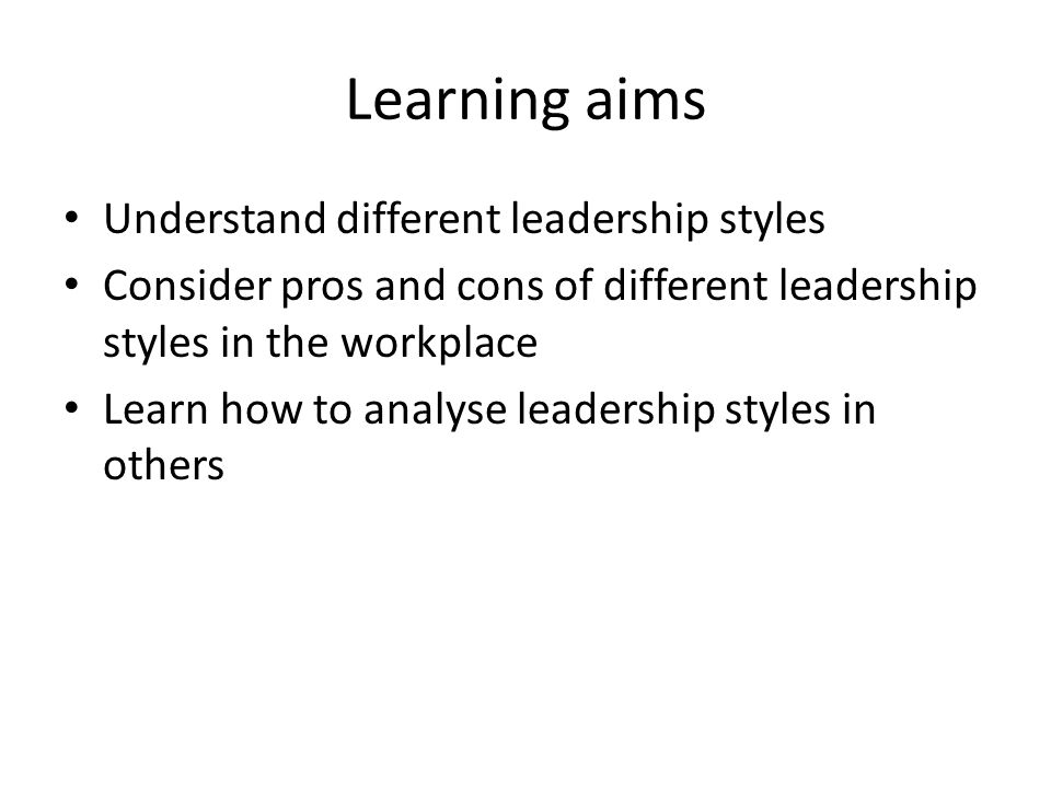 understanding the different leadership styles How nursing leadership styles can impact patient outcomes and it is important to understand the different leadership styles that are often found in the workplace.