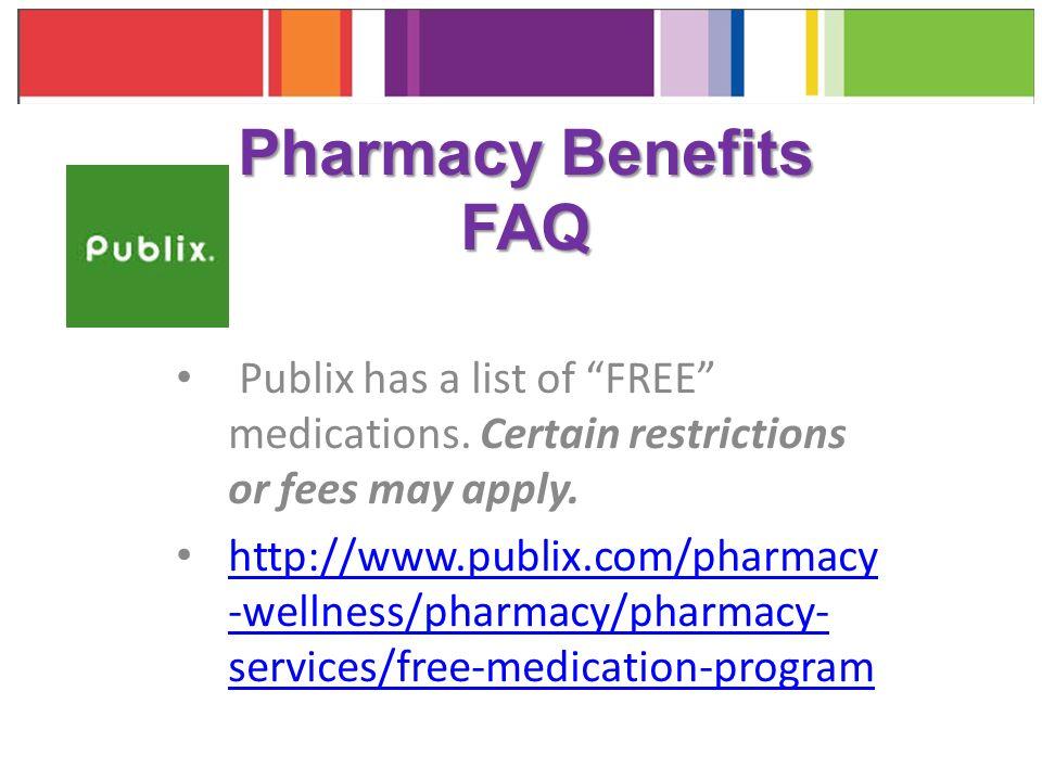 free medication list