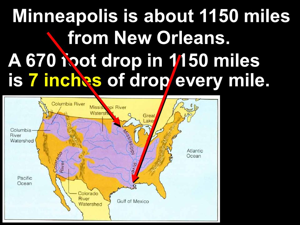 Minneapolis is about 1150 miles