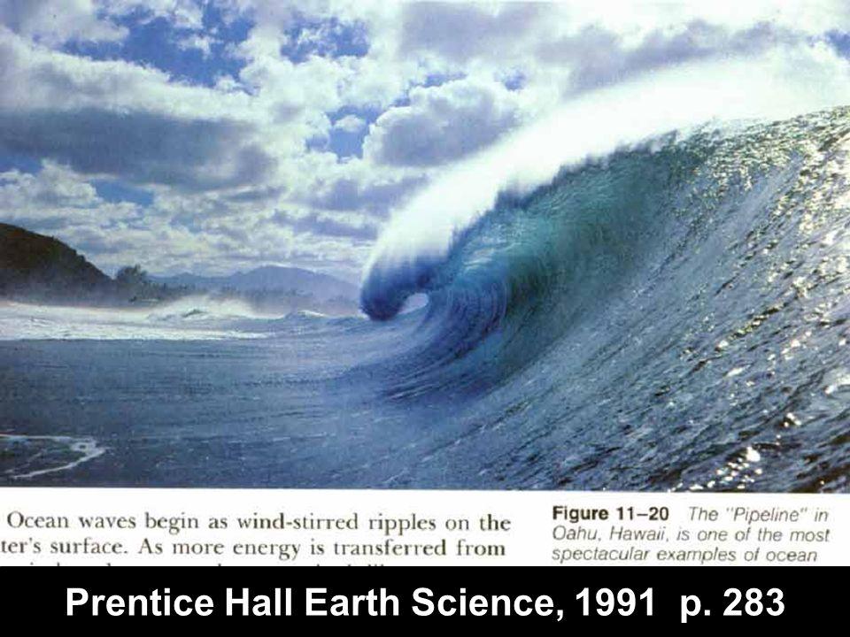 Prentice Hall Earth Science, 1991 p. 283