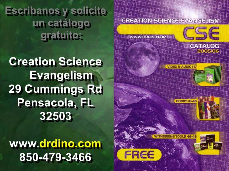 Creation Science Evangelism 29 Cummings Rd Pensacola, FL