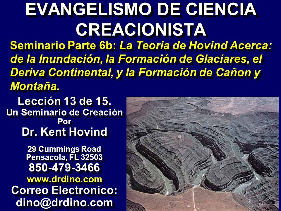 EVANGELISMO DE CIENCIA CREACIONISTA