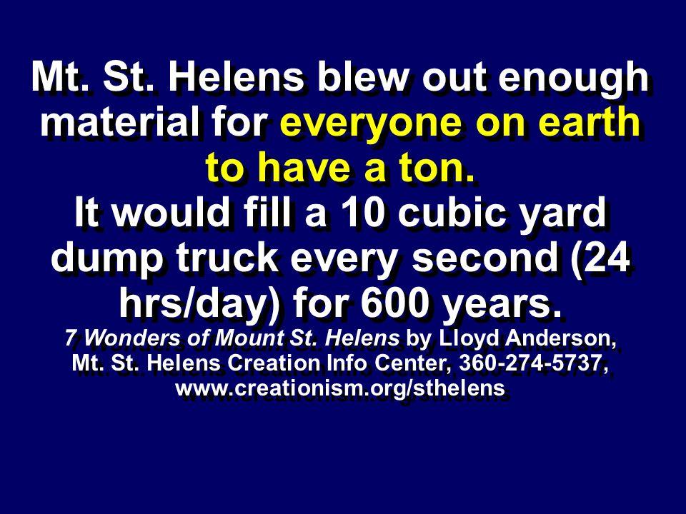 7 Wonders of Mount St. Helens by Lloyd Anderson,