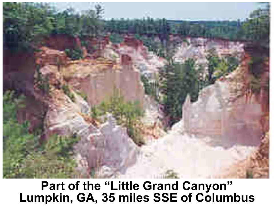Part of the Little Grand Canyon