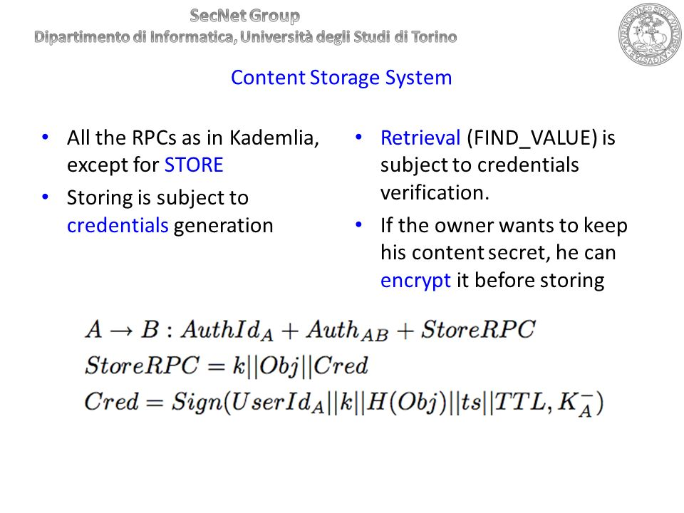 Content Storage System