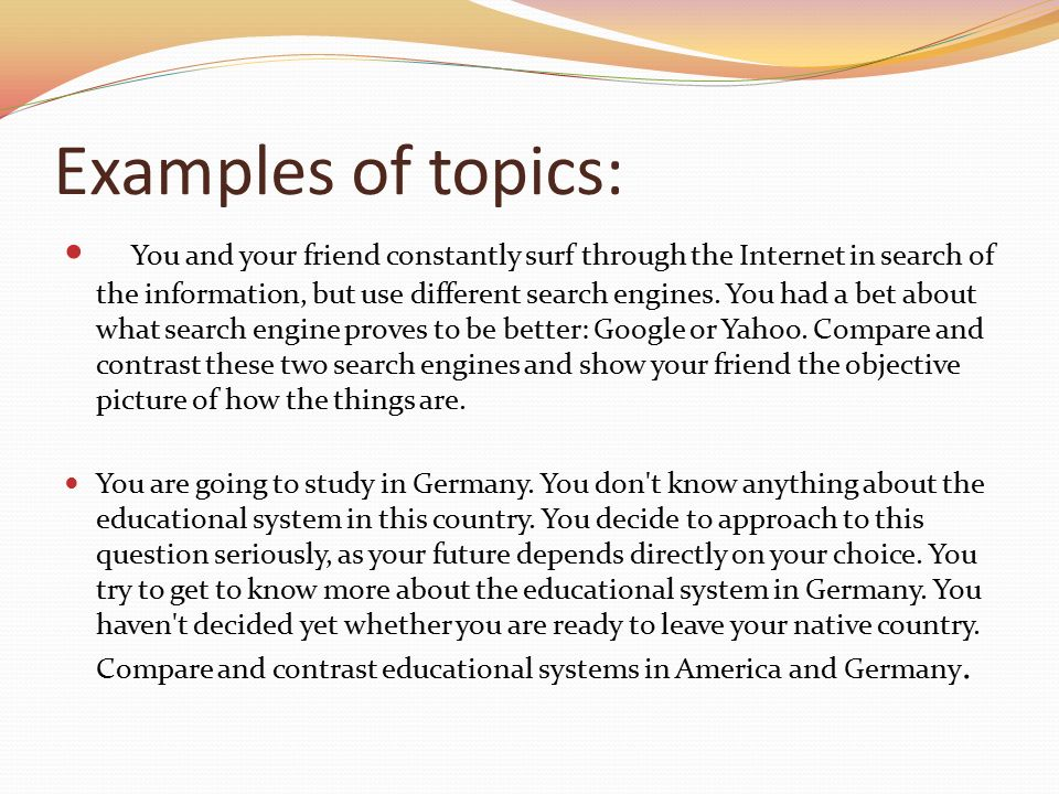 Introduction compare contrast essay between two countries