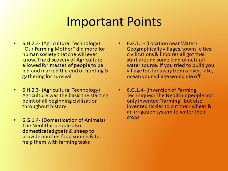 the birth of agriculture 10  b c e