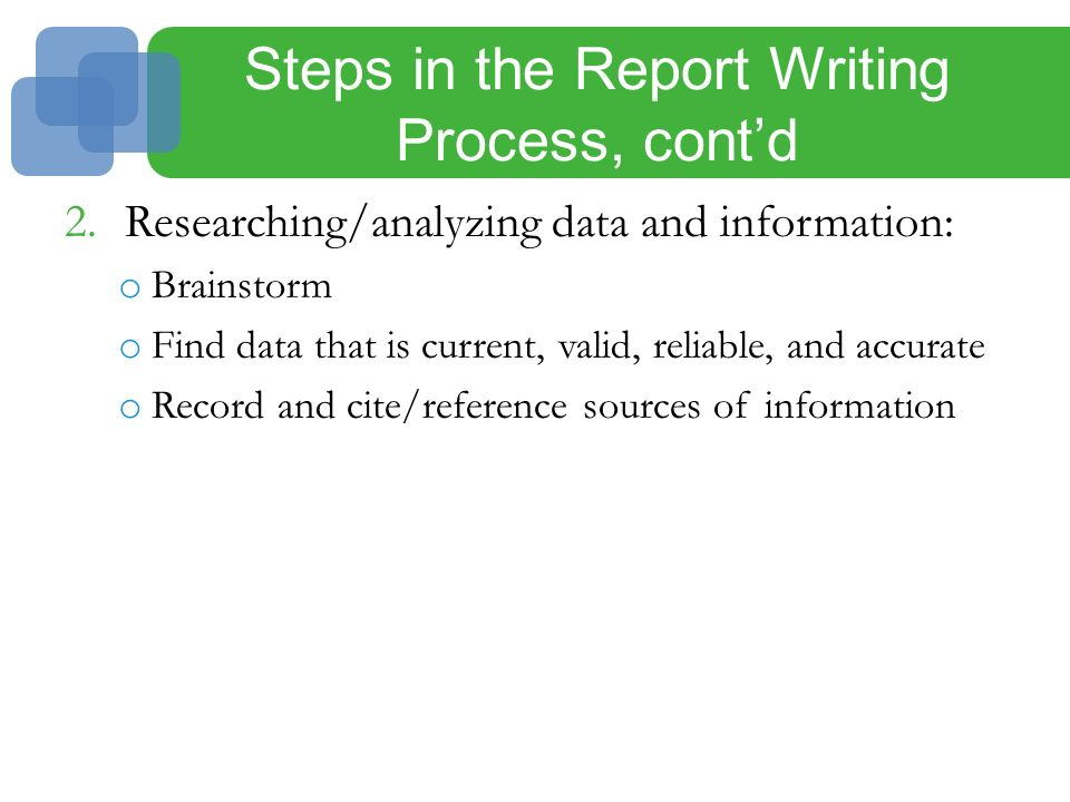 An Overview of the Grant Writing Process