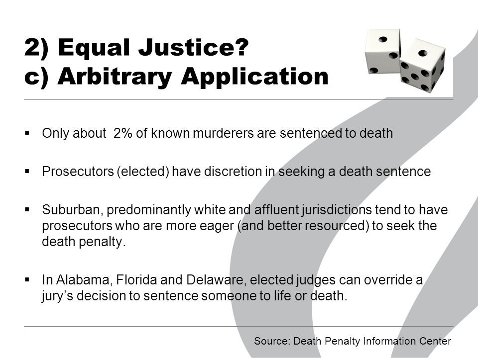 an analysis of death penalty as the most severe of all sentences Gendering the death penalty: countering sex bias in a professor streib nonetheless sees the dearth of female death penalty trials, death sentences bias analysis.