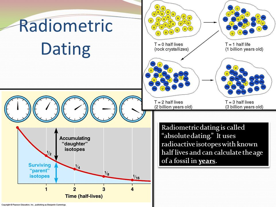radiometric dating is a form of absolute dating Absolute dating the problem: by the  radiometric dating: at the beginning of the 20th century,  it is, in essence a form of relative dating paleomagnetism: .