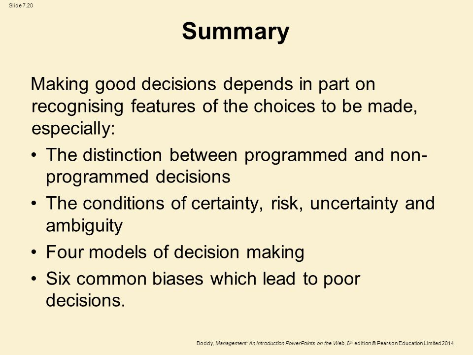 decision making and e job rotation Essays - largest database of quality sample essays and research papers on group decision making.