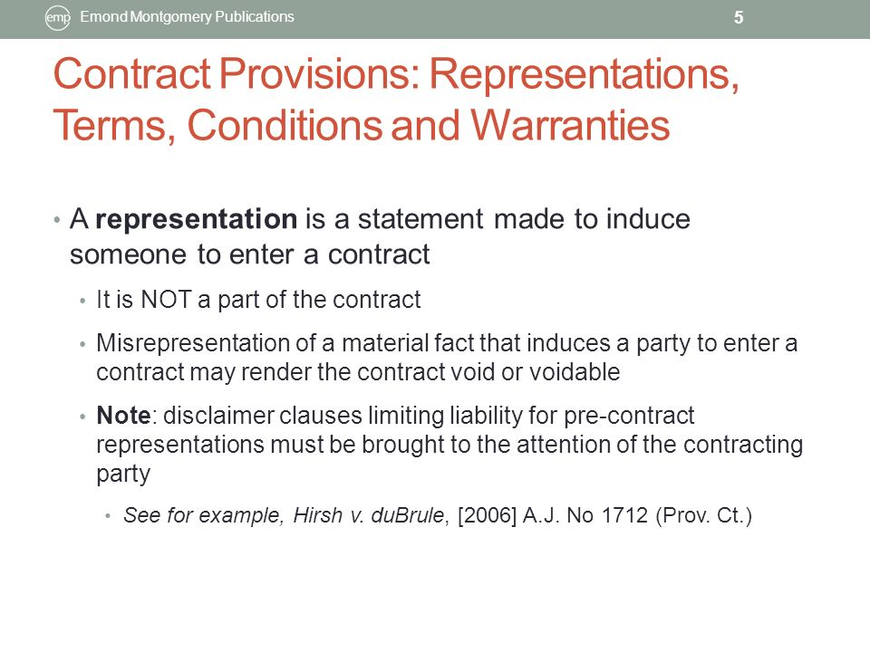 Sellers Representations and Warranties Sample Clauses
