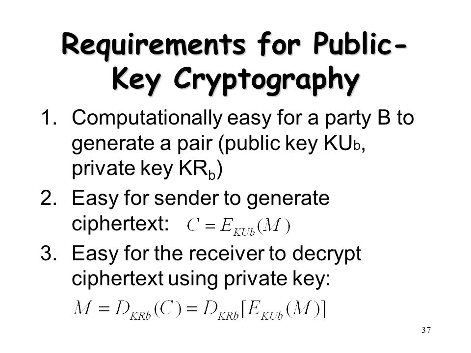 a history of public key encryption Communications an overview of public key cryptography martin e hellman with a public key cryptosystem, the key used to encipher a message can be made public without compromising the secrecy of.