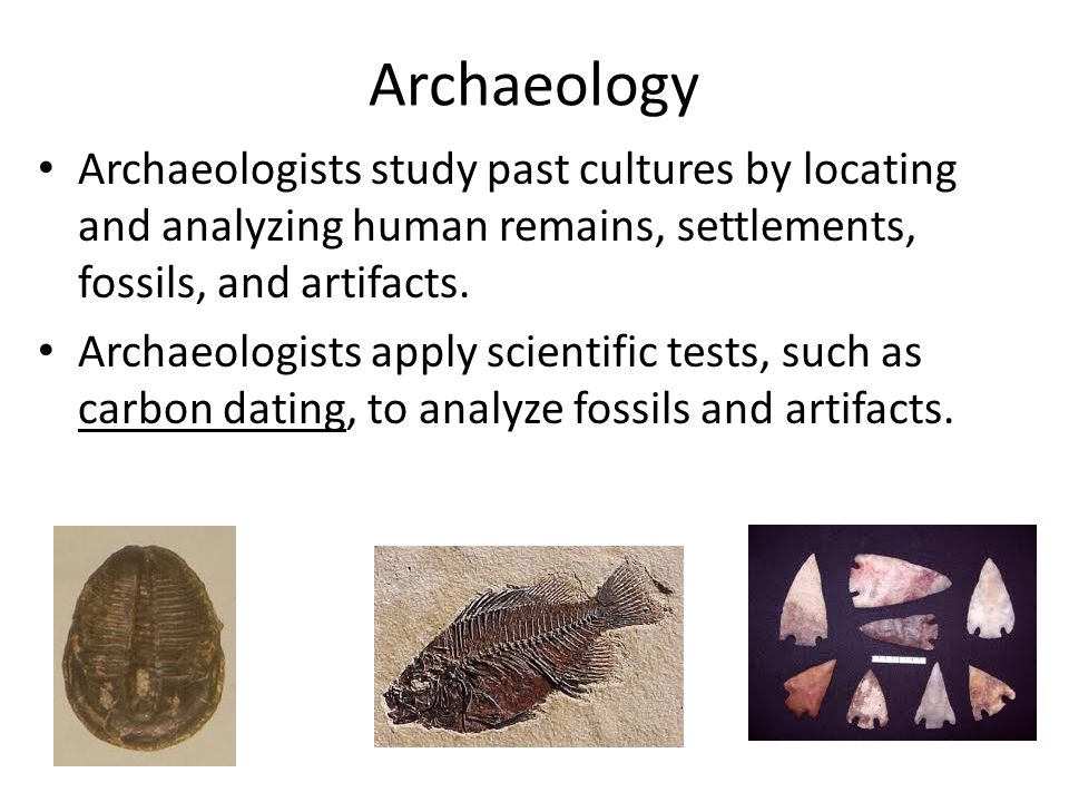 Independent dating in archaeological analysis