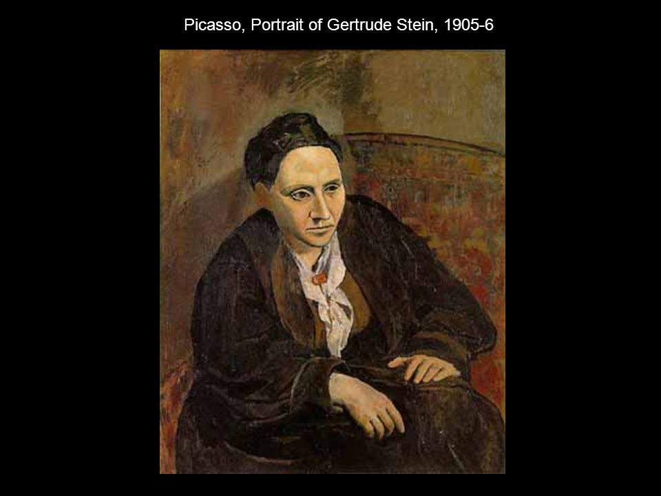an introduction to the self portraits of gertrude stein and pablo picasso Metropolitan picasso by walter robinson pablo picasso gertrude stein 1905-06 picasso in the collection of the metropolitan museum of art, installation view, including, from left, self-portrait (1906), gertrude stein (1905-06.