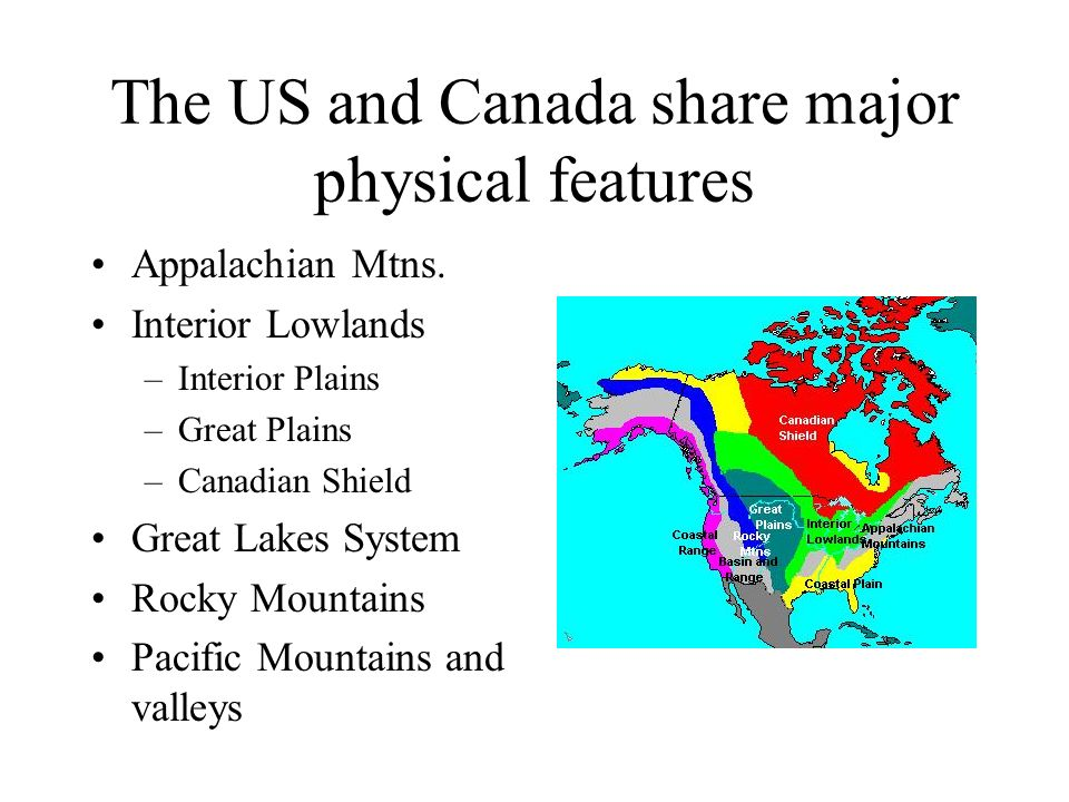 Map Of The Us Canadian Shield Globalinterco - Map of the us canadian shield