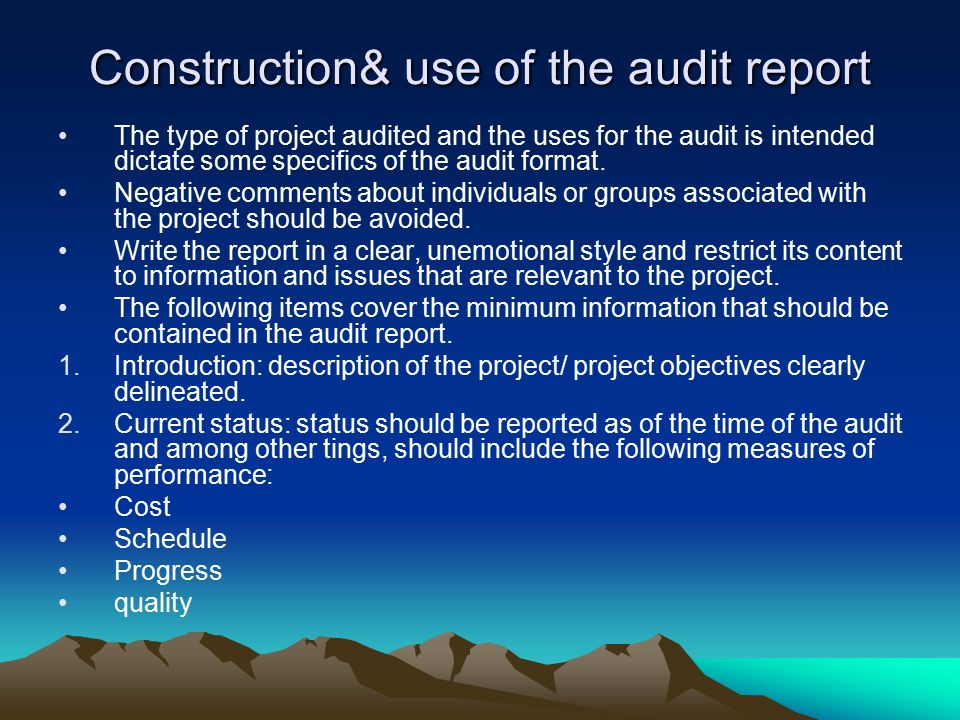 chapter 12 auditing