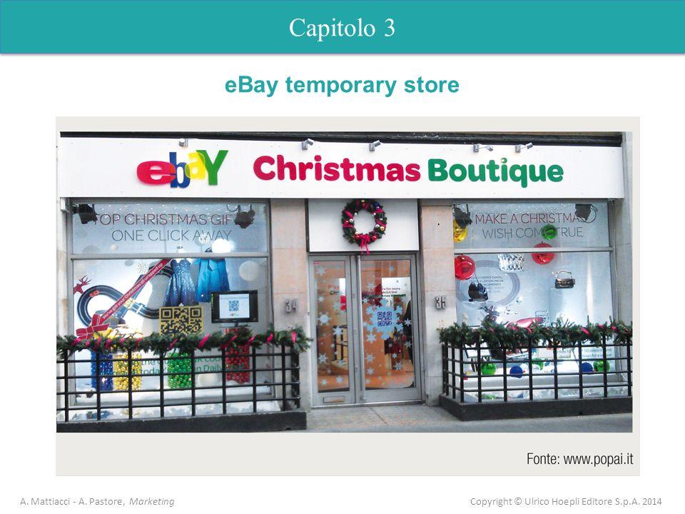 Capitolo 3 eBay temporary store