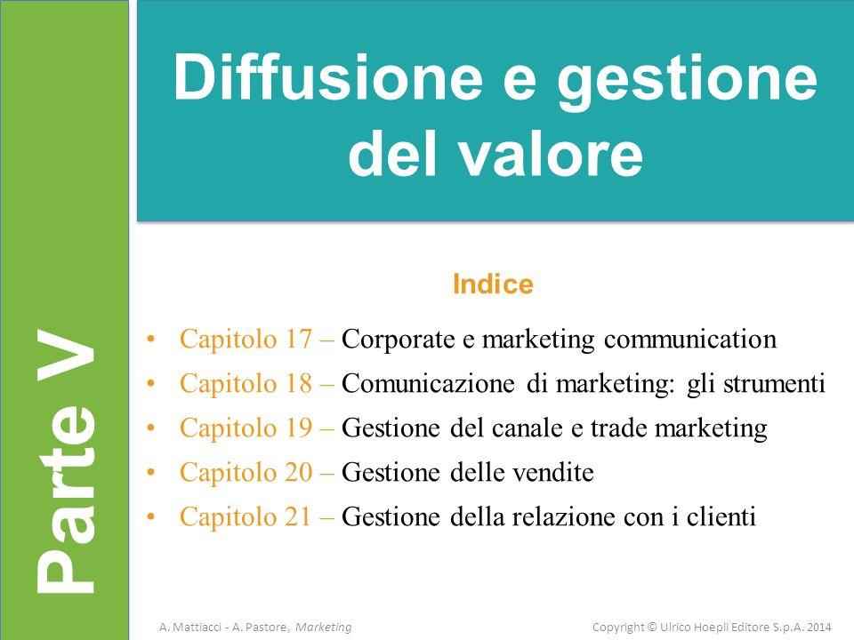 Diffusione e gestione del valore