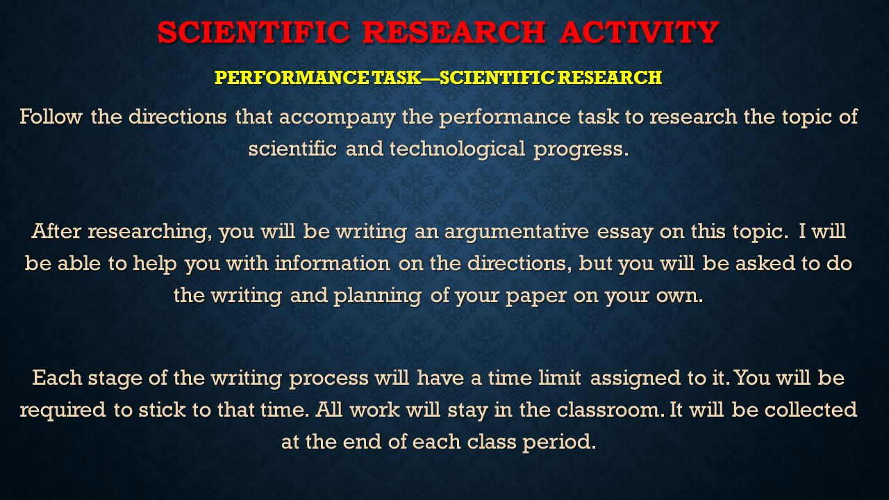 scientific and technological progress essay Science and technology are creations of man naturally man started experimenting on these with positive aims those who had other interests, like money making or making weapons for destroying enemies or such other gains started using scientific known for personal interests.