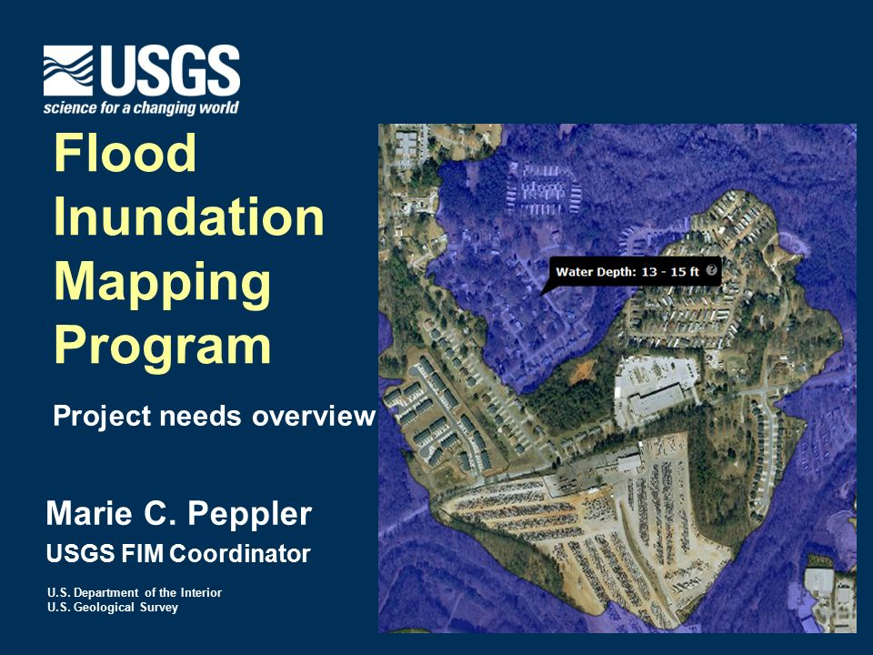 flood inundation mapping program ppt download