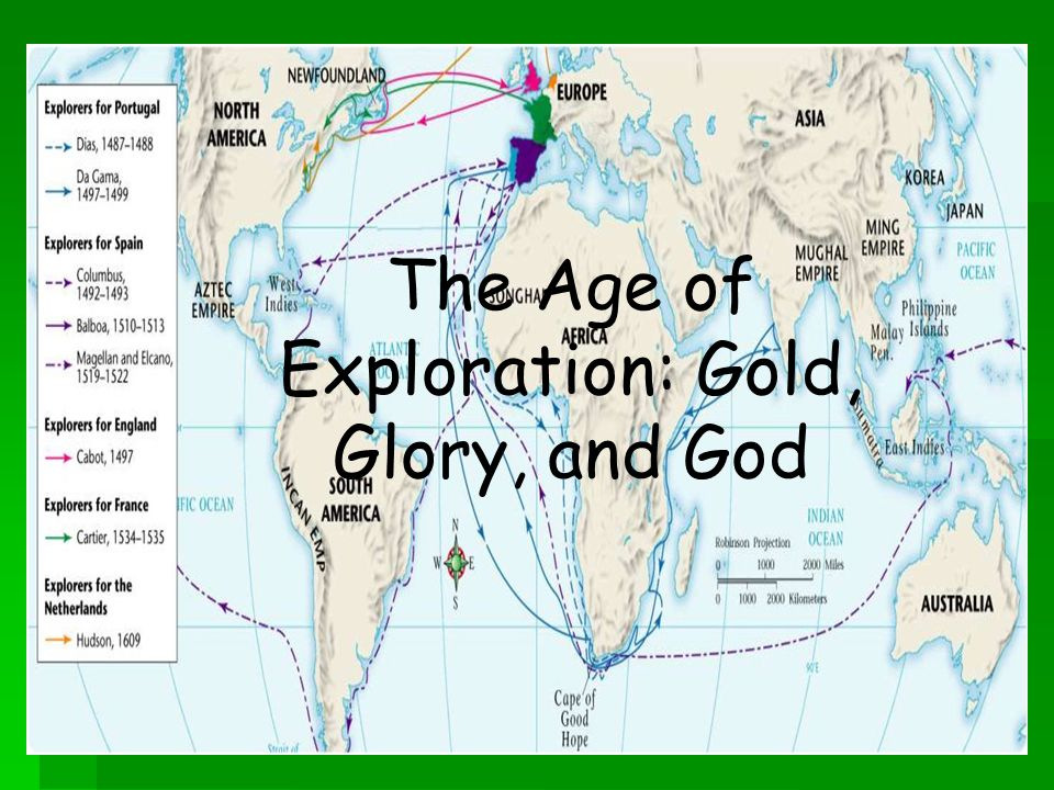 the age of exploration the age