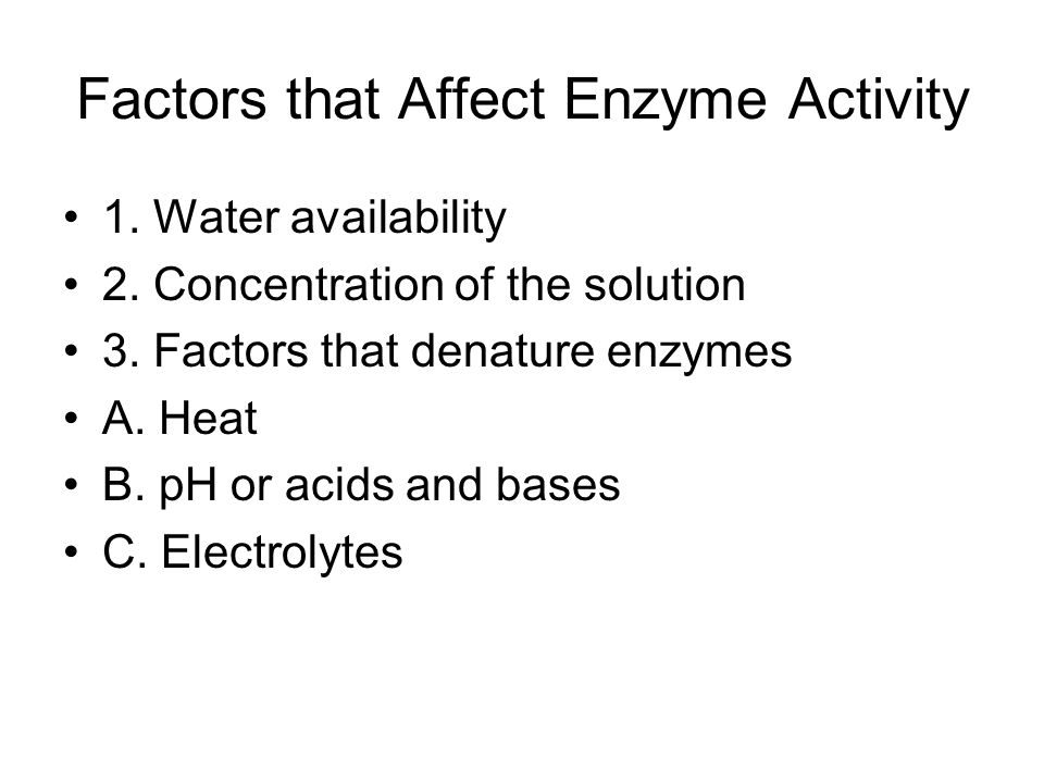 Chapter 12 Enzymes The Protein Catalyst ppt video online download – Enzyme Activity Worksheet