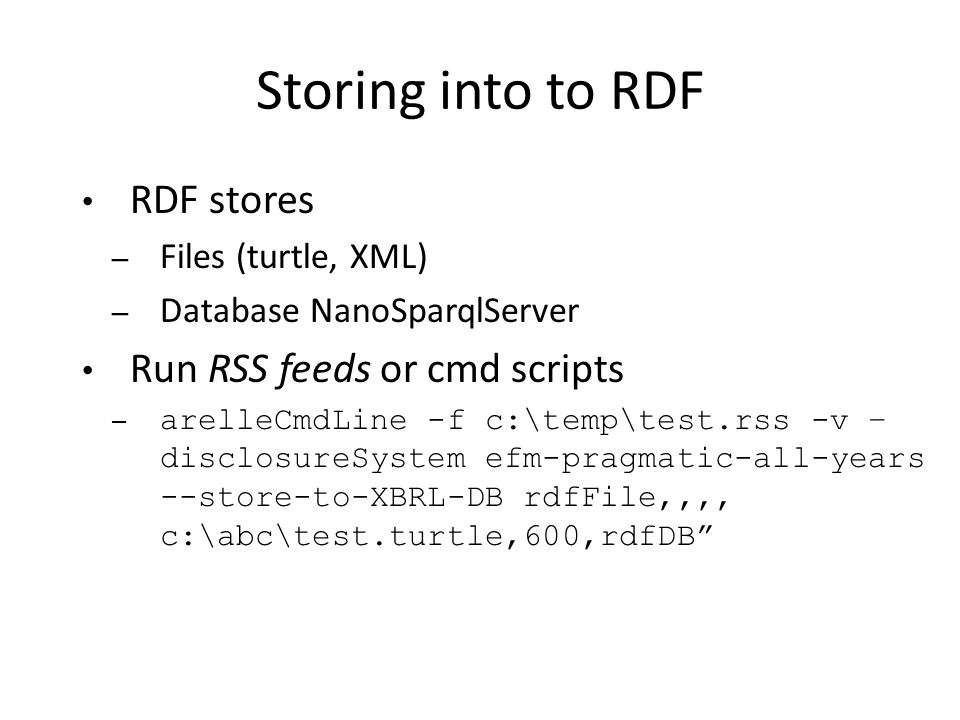 how to run xml file in cmd