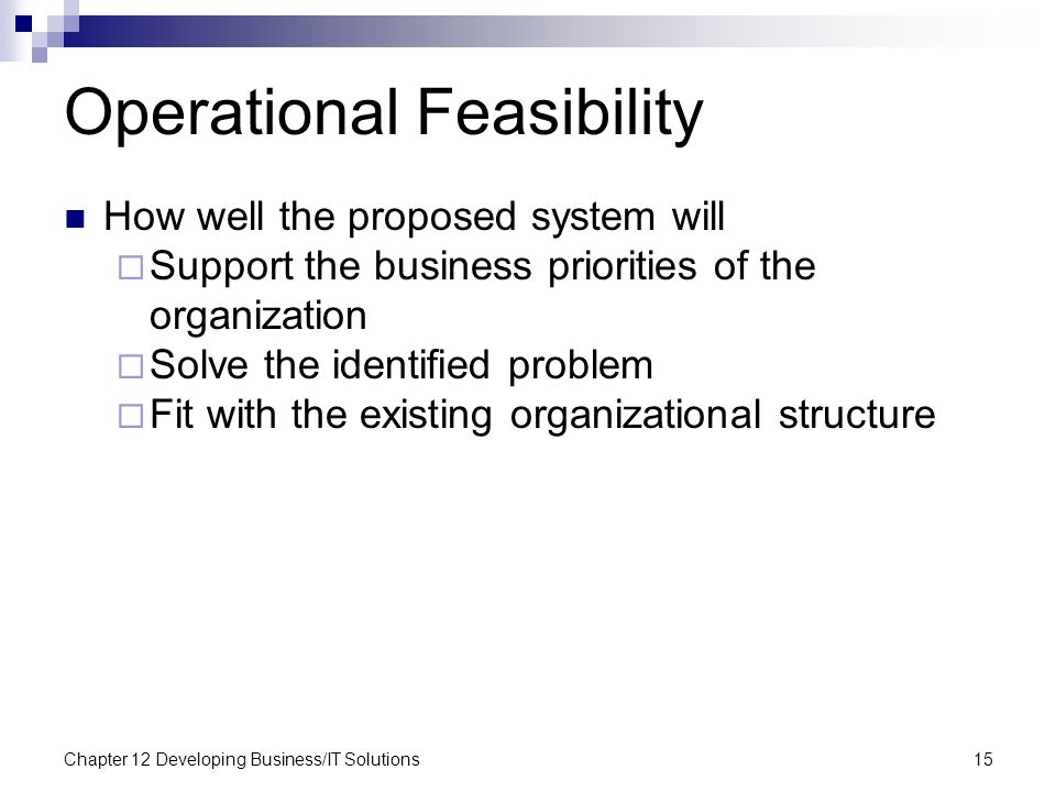 operational feasibility of computerized library system Types of feasibility the feasibility study includes complete initial analysis of all related system  fully computerized library system  necessary utilities of .