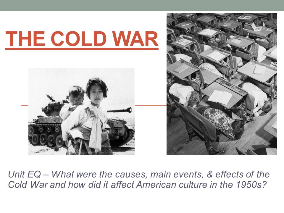 the cold war and its impact on america The term 'cold war' is used to describe the rivaly on strategic, political and economic grounds, between two superpoweres, namely usa & ussr, in the post world war-2 period it was cold in the sense that it never precipitated into a full blown mi.