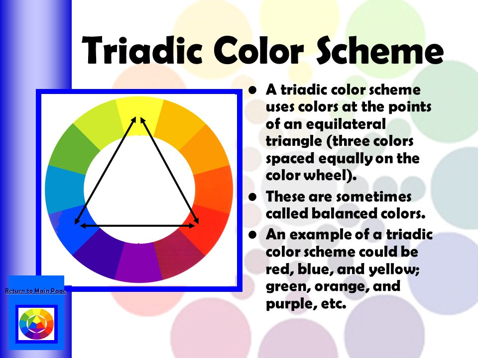 Triadic Color Scheme Examples color wheel scheme. 9 the color scheme. analogous color scheme