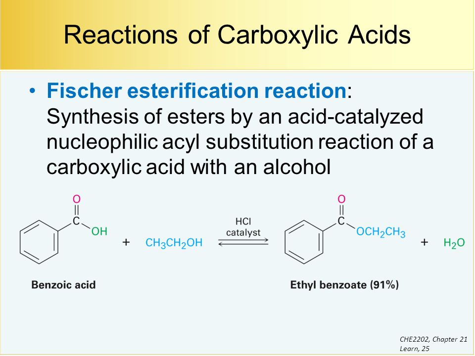 Chapter 21 Carboxylic Acid Derivatives: Nucleophilic Acyl Substitutution Reactions Suggested ...