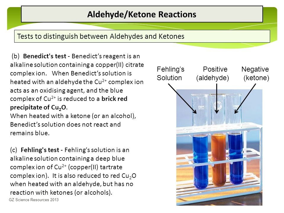 test for alcohols aldehydes and ketones Tests for alcohol, aldehyde, alkene and carboxylic acid  part 2 – a test for an aldehyde using fehling's solution  tests for alcohol, aldehyde, alkene and carboxylic acid (1) 7a measuring rate of reaction by an initial rate method (1) 7b.